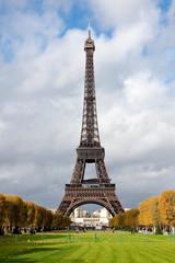 eiffel tower trees