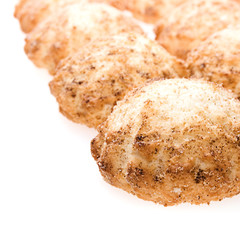 Cookie isolated on white background.