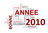 Fototapety Bon Annee 2010 mots clés