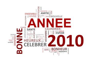 Bon Annee 2010 mots clés