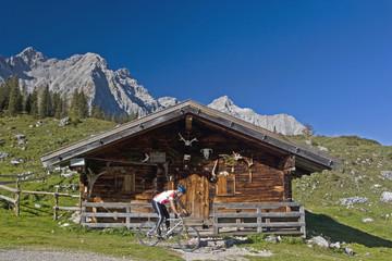 Ladizalm im Karwendelgebirge