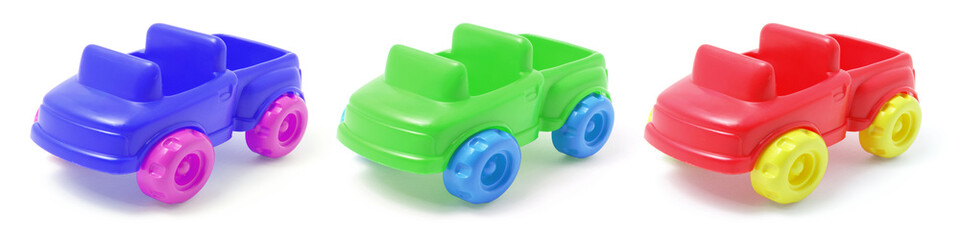 Plastic Toy Cars