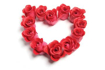 Roses Love Heart