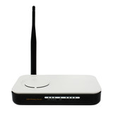 Wireless router isolated poster