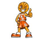 Basket mascot poster