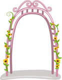 Fototapety garden arch