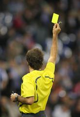 Arbitro Tarjeta Amarilla