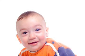 Smiling little child