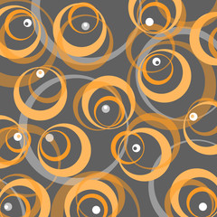 retro stil background 70s yellow grey