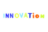Word Innovation From Plastic Toys Letters poster