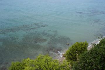 green-blue sea
