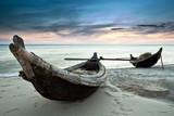 Fototapete Sonnenuntergänge - Sunrise - Fischerei