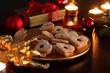Weihnachten,Gebaeck,Herzplaetzchen mit Marmeladenfuellung