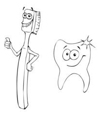 Zähneputzen, Zahn, Zähne, Zahnarzt, Zahnbürste