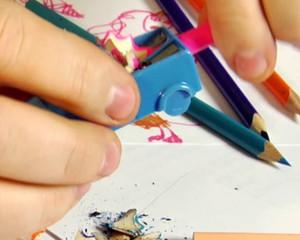 pencils sharpening
