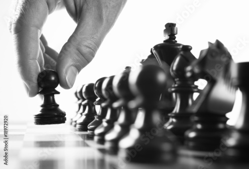 chess player first move