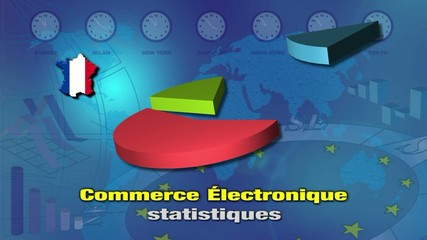 Background estadisticas e-commerce Francia