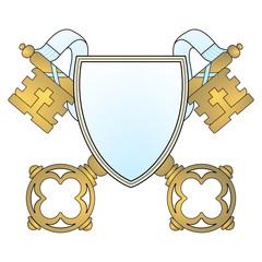 Schlüssel Wappen