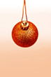 Orange bauble