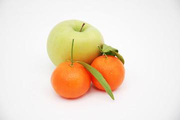 mela e mandarini