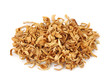 Orange blossom tea isolated on the white background