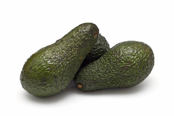 Aguacates saludables.