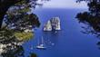 Italy, Campania, Capri island, Faraglioni