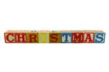 Christmas Old blocks poster