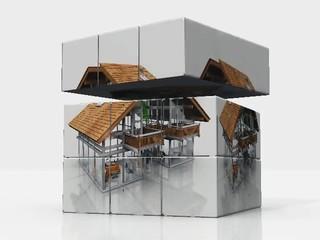 cube maison