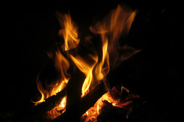 Textura de fuego 02