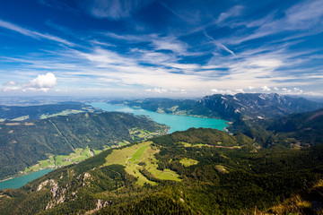 Mountain vacation at the lake in Austria