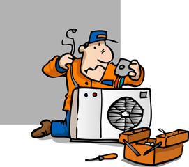 réparateur climatisation