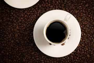 Coffee from upstears