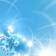 fondo azul navidad