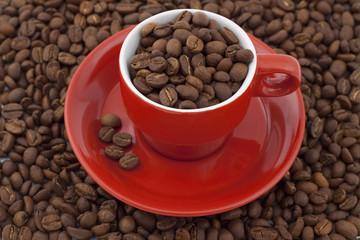 full of coffee