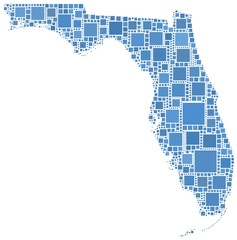 Map of Florida (USA)