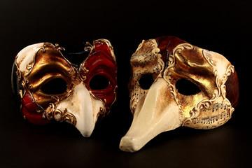 coppia maschere