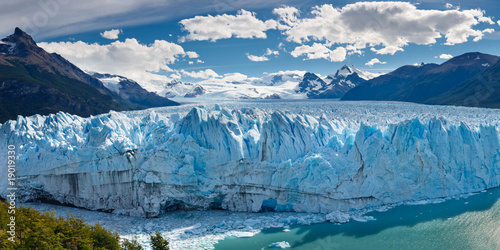 Papiers peints Amérique du Sud Perito Moreno Glacier, Patagonia, Argentina - Panoramic View