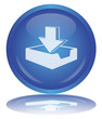 DOWNLOAD Web Button (Save - Internet - P2P - Free - Vector)