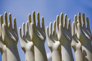 Sculptured Hands