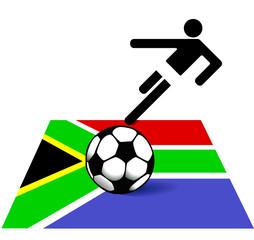 Fusball in Südafrika