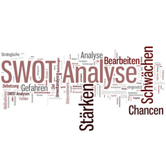 SWOT- Analyse