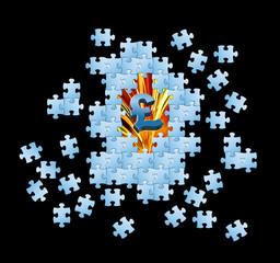 UK Pound puzzle