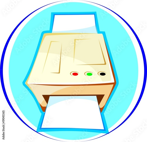 Illustration of a Photostat machine