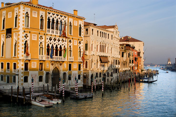 Venice - Canal Grande in evening light