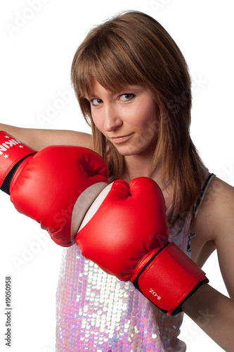 Pretty Sexy boxer girl