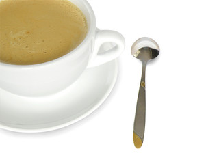 coffee and spoon