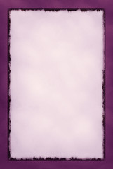 Decorative Grunge Border Series - Wine