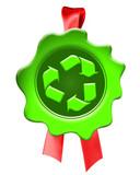 certifié recyclable poster