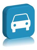 CAR web button (car-sharing sharing insurance hire) poster